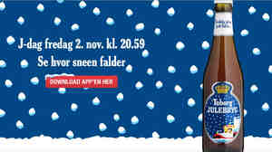 J-Day, the first Friday in November, marks the release of Denmark's Christmas beer, Tuborg's Julebryg. It's practically a national holiday as the beer is promoted tonight in bars throughout the country.