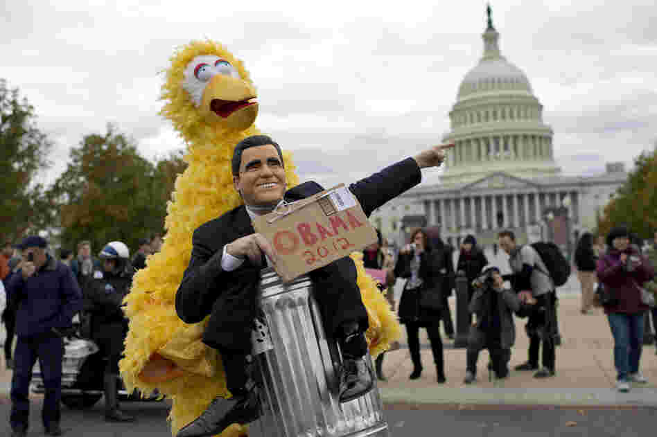 In the first presidential debate, Mitt Romney said he loved Big Bird, but as president he would cut funding for public broadcasting as a way to reduce the deficit.