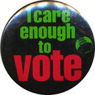 I care enough to vote