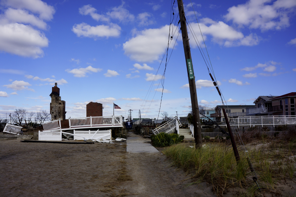 Breezy Point's residents say they will rebuild. (NPR)