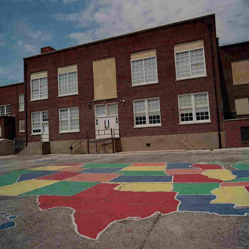 The playground at James B. Bonham Elementary School.