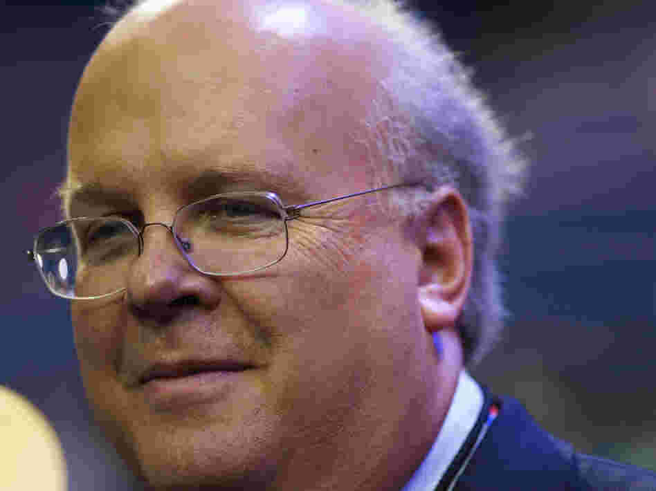 Karl Rove, the founder of Crossroads GPS and a former adviser to President George W. Bush, at the Republican National Convention in Tampa, Fla, on Aug. 28.