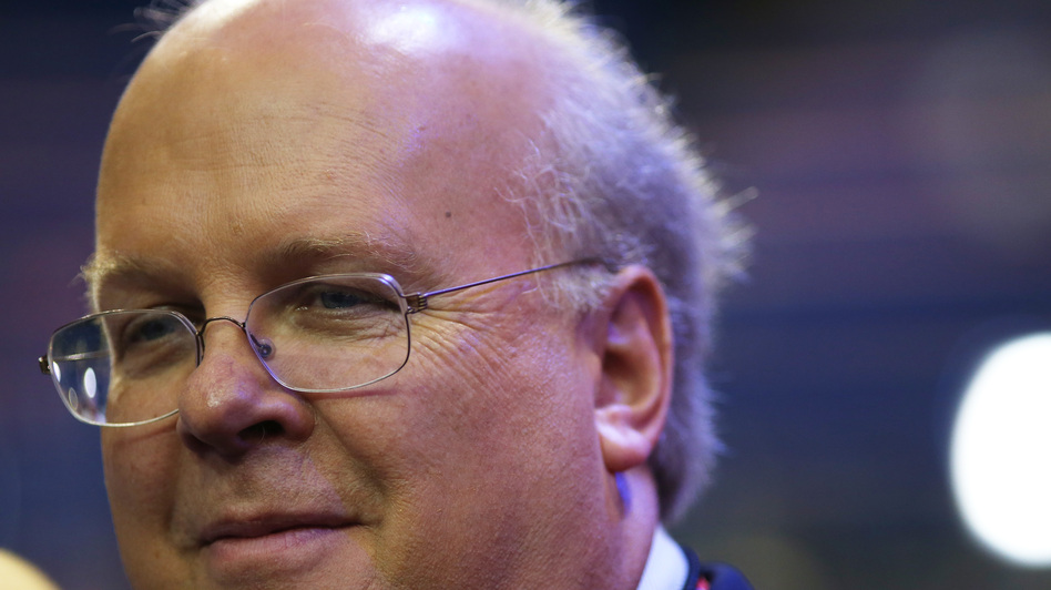 Karl Rove, the founder of Crossroads GPS and a former adviser to President George W. Bush, at the Republican National Convention in Tampa, Fla., on Aug. 28. (Getty Images)