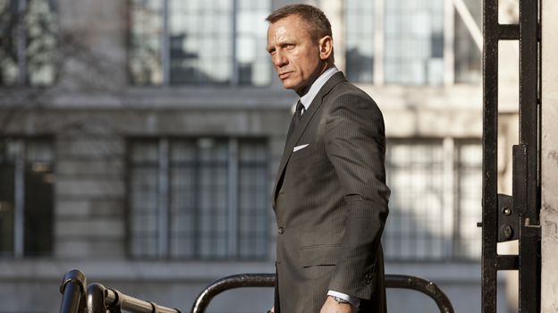 Daniel Craig returns for a third outing as James Bond in Skyfall, the 23rd installment in the spy movie franchise, and its 50th-anniversary release. (Sony Pictures)