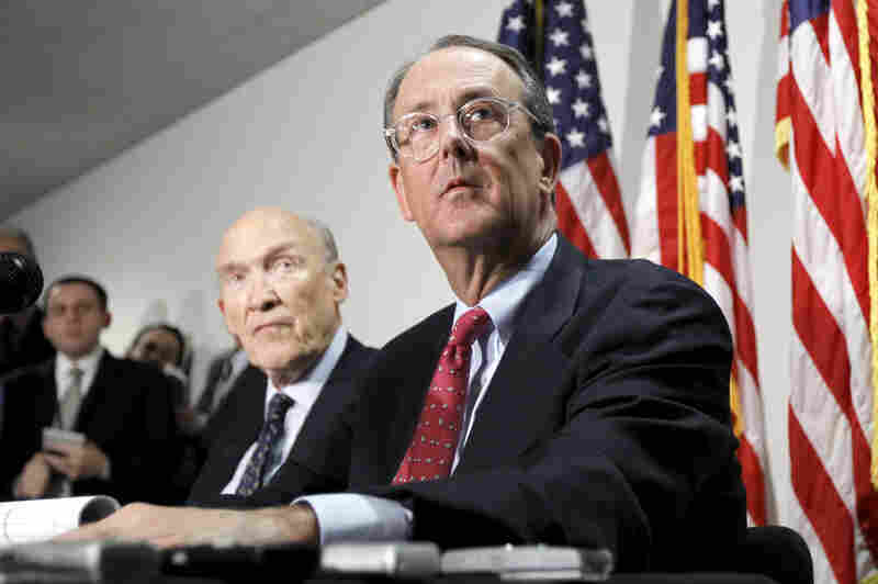 Erskine Bowles, Bill Clinton's former chief of staff and co-chair of Obama's Simpson-Bowles deficit reduction commission, could be the next Treasury secretary. Bowles (right) is 67.