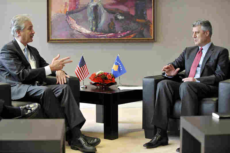 William Burns, 56 (left), the deputy secretary of state, could get a promotion if Obama wins re-election.