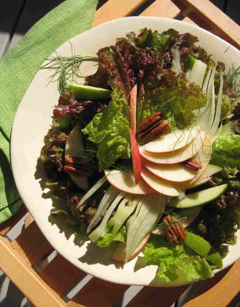 Seasonal Salad With Apple Cider Vinaigrette