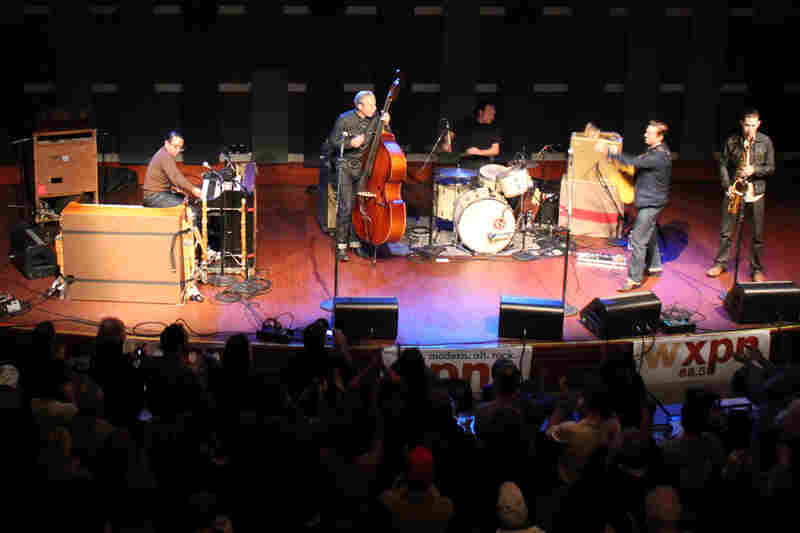 The World Cafe Live theater in Philadelphia was packed for the performance.