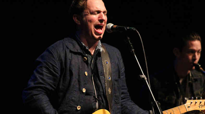 JD McPherson puts on a fiery show at WXPN.