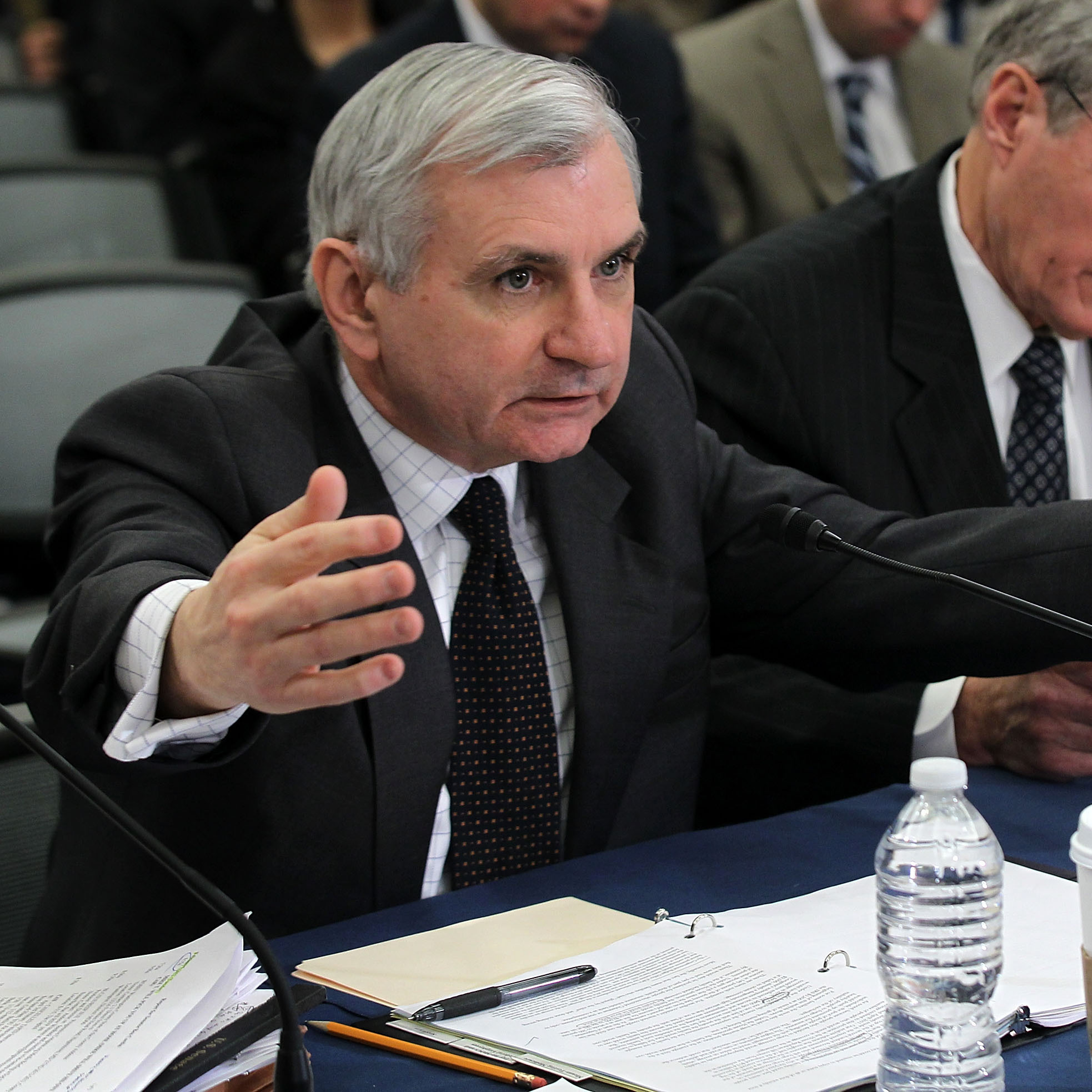 Rhode Island Sen. Jack Reed, 62, is thought to be a possibility for defense secretary.