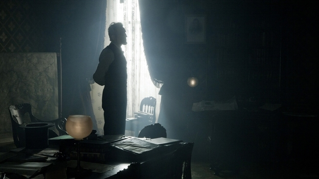 Daniel Day-Lewis takes on one of America's most famous presidents in Lincoln. (DreamWorks)