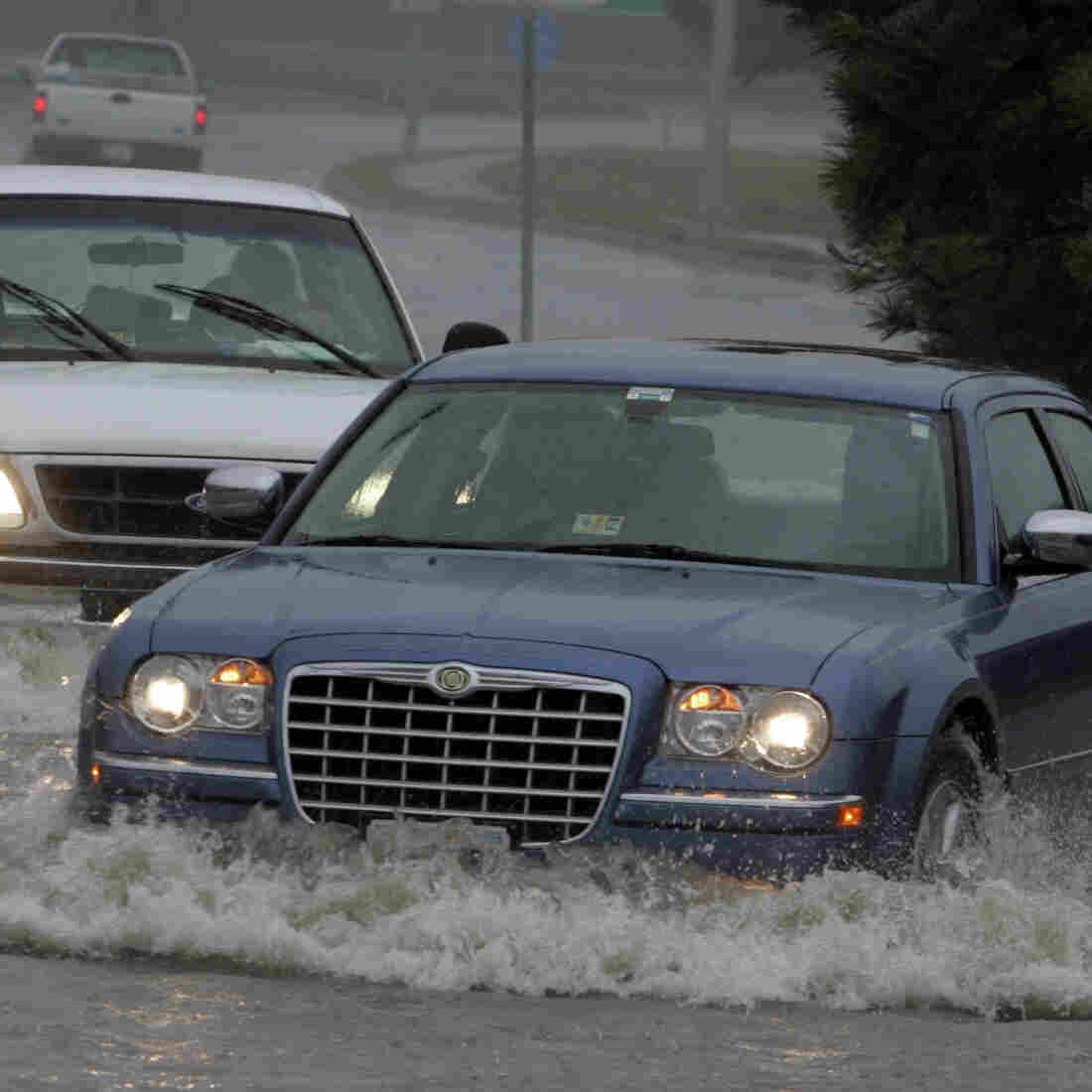 Norfolk, Va., Puts Flooding Survival Plan To The Test
