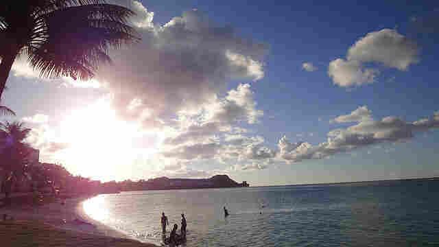 An evening in Guam in 2009.