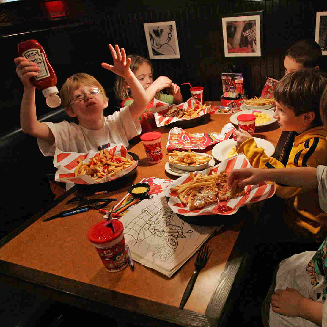 Restaurant Meals Mean More Calories And Soda For Kids And Teens