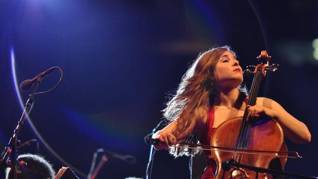 Cellist Alisa Weilerstein. (courtesy of the artist)