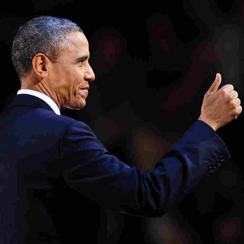 For Obama, Vindication, But Not A Mandate