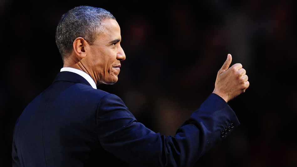 Obama has become only the third U.S. president to win re-election by a narrower margin than his first victory. Having won a second term, Obama will seek to set the nation's agenda on issues ranging from taxes to immigration, but he may continue to struggle in selling his ideas to Congress. (AFP/Getty Images)