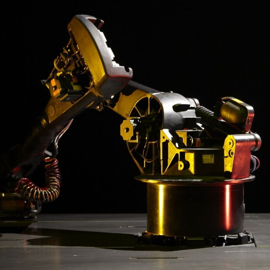 KUKA, an industrial robot developed in the '70s, is the unlikely star of a French nouveau-cirque piece premiering in the U.S. on Friday.