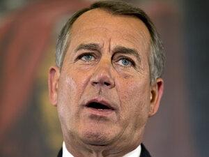 Speaker John Boehner, R-Ohio, said Wednesday that House Re