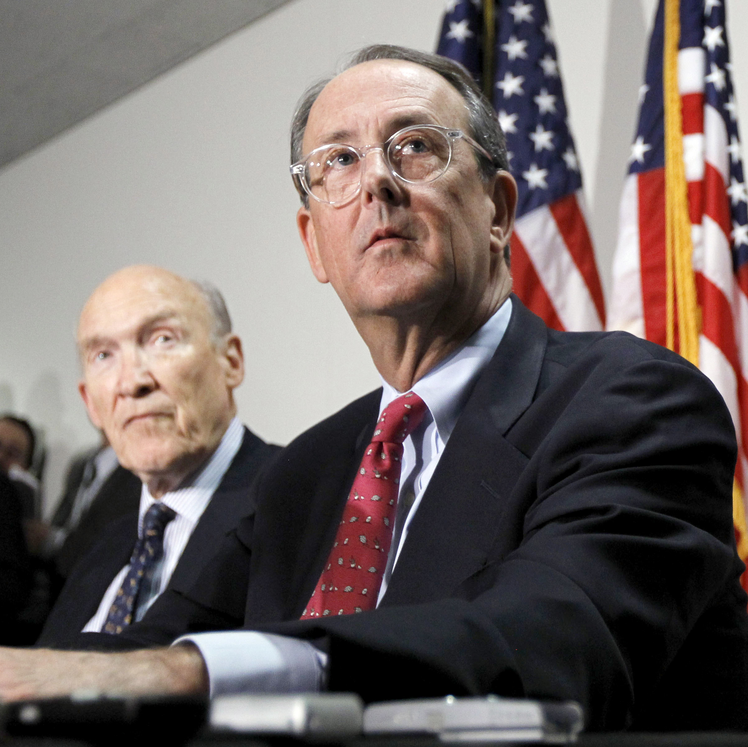 Erskine Bowles, Bill Clinton's former chief of staff and co-chairman of Obama's Simpson-Bowles deficit-reduction commission, is also a potential candidate for treasury secretary. Bowles (right) is 57.
