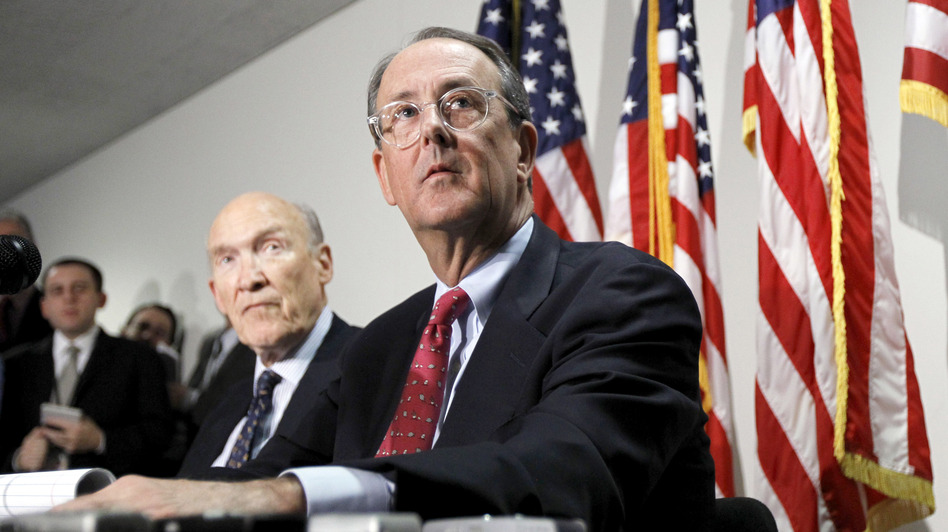 Erskine Bowles, Bill Clinton's former chief of staff and co-chairman of Obama's Simpson-Bowles deficit-reduction commission, is also a potential candidate for treasury secretary. Bowles (right) is 57. (AP)