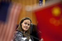 Michele Flournoy, 51, former U.S. undersecretary of defense for policy, could become the first female secretary of defense.