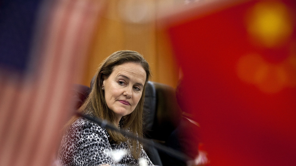 Michele Flournoy, 51, former U.S. undersecretary of defense for policy, could become the first female secretary of defense. (Getty Images)