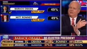 When Fox News called Ohio for President Obama, analyst Karl Rove insisted that the decision was premature. Click here to watch the conversation.