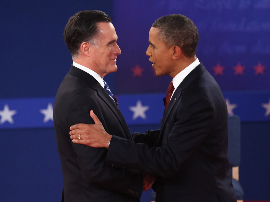 The taller candidate always wins? Think again. (Getty Images)