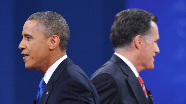 The taller candidate always wins? Think again. (AFP/Getty Images)