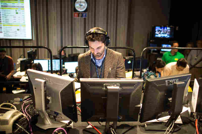 NPR Host Guy Raz in Studio 4A.