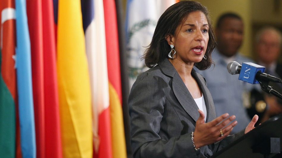 Susan Rice's position as U.S. ambassador to the United Nations could make her an appealing choice to replace Secretary of State Hillary Clinton. (Getty Images)
