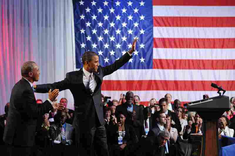 Massachusetts Gov. Deval Patrick introduces President Obama at a Democratic National Committee fundraiser in Boston last year. Patrick may be one of Obama's choices for attorney general.