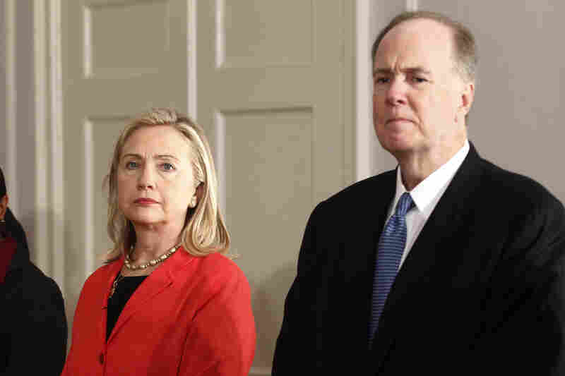 National Security Adviser Tom Donilon could take over Hillary Clinton's role as secretary of state after she departs.