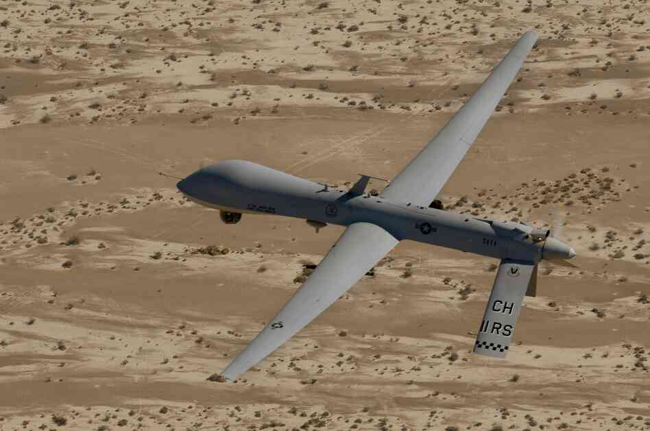 In this Sept. 6, 2007 photo, an MQ-1 Predator unmanned
