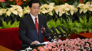 """During his speech Thursday, Chinese President Hu Jintao, who is also the top party official, warned delegates that corruption could be """"fatal"""" to the party and even cause """"the fall of the state."""""""