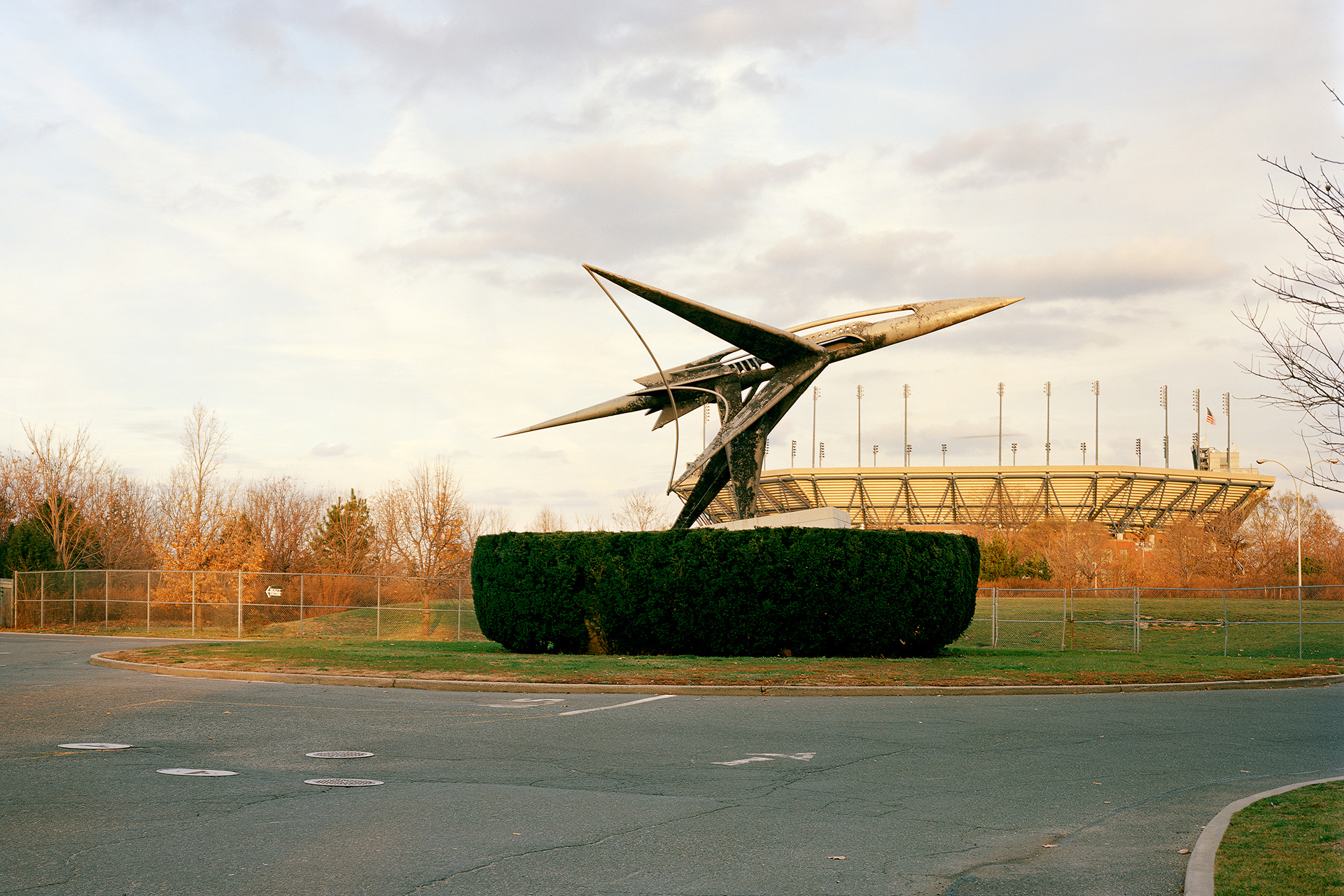 "New York 1964 world's fair, ""Peace Through Understanding,"" Airplane, 2011"
