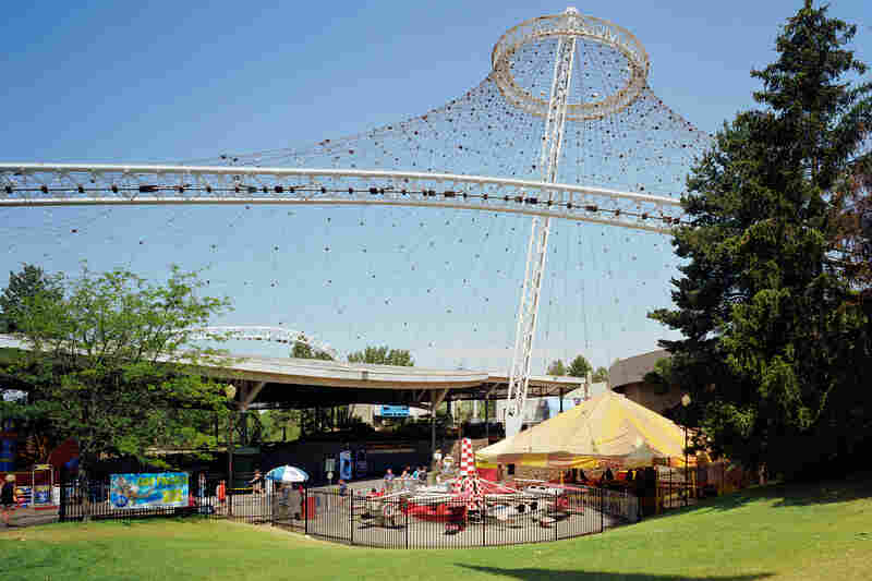 "Spokane 1974 world's fair, ""Celebrating Tomorrow's Fresh New Environment,"" United States Pavilion, 2007"