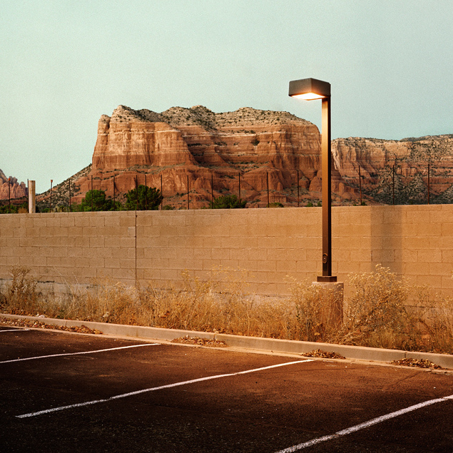 Parking Lot, Sedona, Ariz., 2010