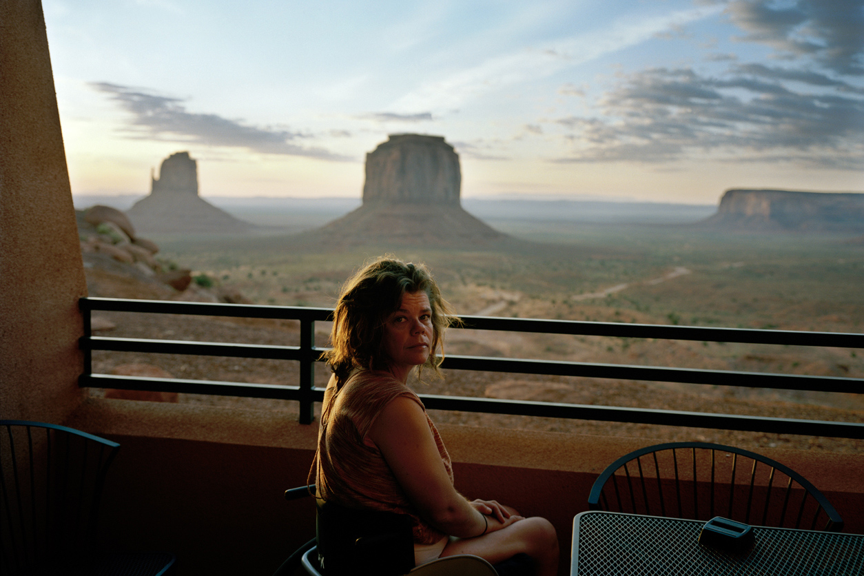 Nicole, Monument Valley, Utah, 2009