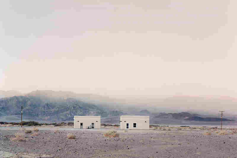 Two Structures, Death Valley, Calif., 2008