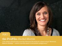 NPR host and correspondent Rachel Martin.
