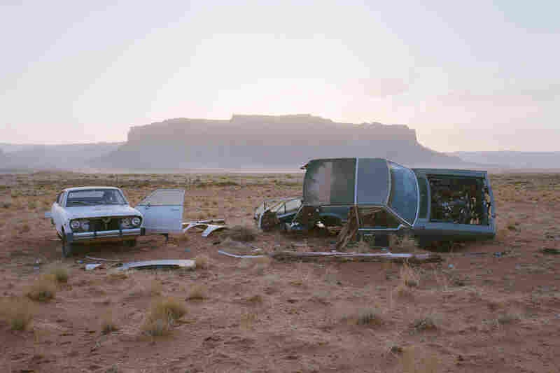 Car Skeletons, Highway 163, Ariz., 2008