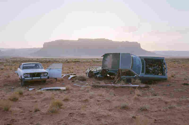 Car Skeletons, Highway 163, Ariz., 2008