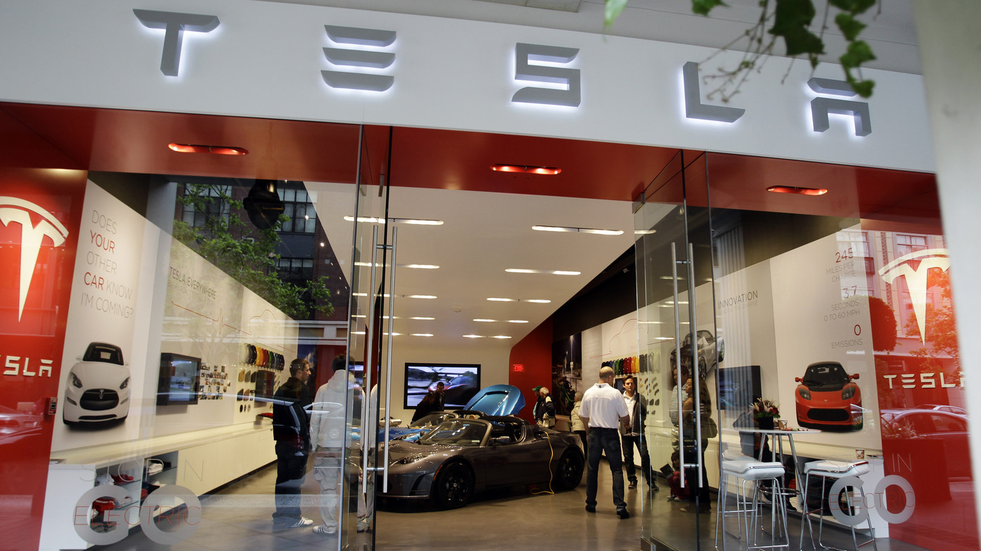 Car Dealers Sue Tesla Citing State Franchise Laws Npr