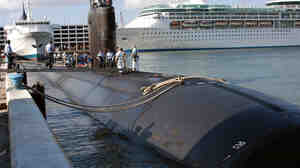 Before the fire: The USS Miami in 2004.