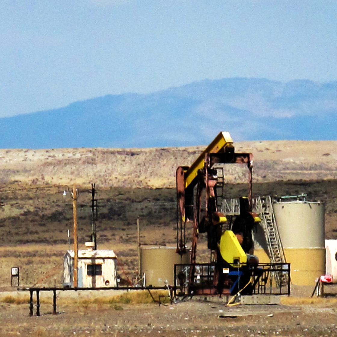 In most oil fields, the water that companies pump up with the oil gets reinjected deep underground. But the federal government allows a dozen oil fields on the Wind River Reservation in Wyoming to pump streams of this wastewater onto the land.