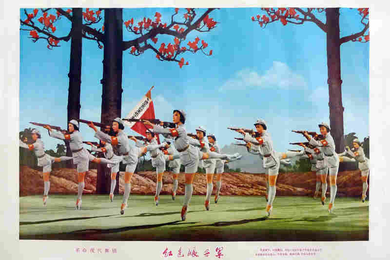 """The Red Detachment of Women (Modern Revolutionary Ballet)."" 1970"