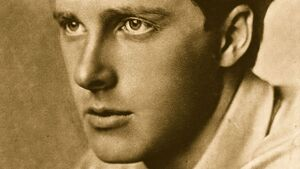 """English poet Rupert Chawner Brooke died of dysentery aboard a troop ship headed for Gallipoli in April 1915. His poem """"The Soldier"""" is one of the most famous poems written during World War I."""