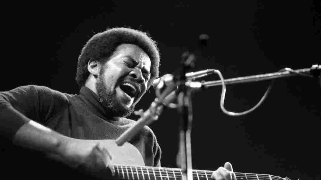 Bill Withers onstage in 1973.